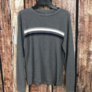👗Old Navy Striped Thermal Pullover Shirt M…